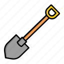 dig, garden, shovel, shovels, spade
