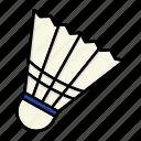 badminton, birdie, game, shuttlecock, sport