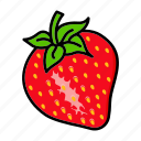 berry, food, fruit, spring, strawberry