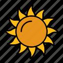 hot, shine, sprimg, sun, warm