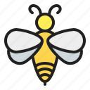 bee, beekeeping, honey, insect, spring icon