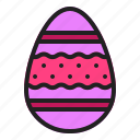 easter, egg, ornament, spring icon