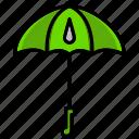 brolly, flourish, parachute, spring, sunshine, umbrella, weather
