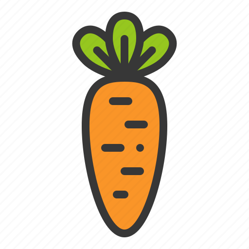 carrot, food, nature, spring, vegetable icon