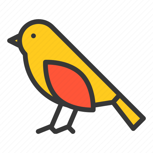 animal, bird, fly, poultry, spring icon