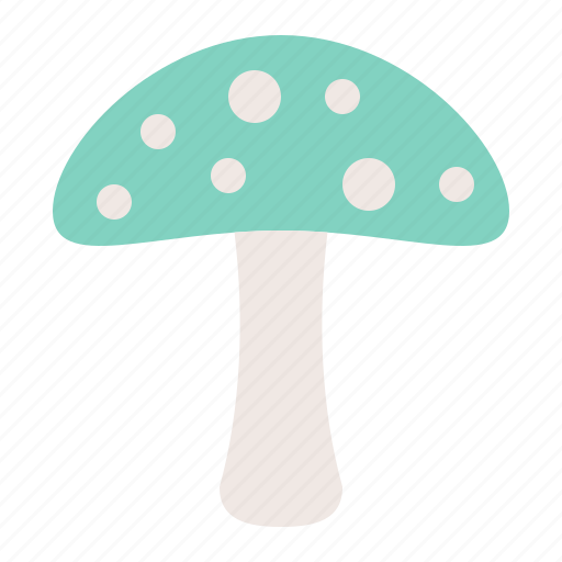 mushroom, nature, poison, spring icon