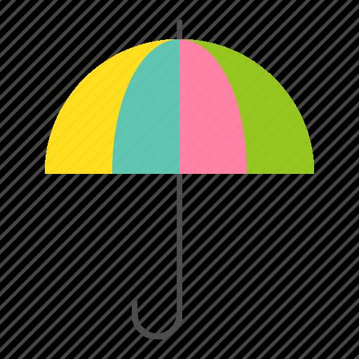 brolly, spring, sunshade, umbrella icon