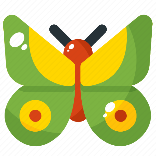 Animal, butterfly, insect, nature, spring icon - Download on Iconfinder