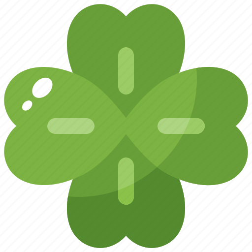 clover, leaf, luck, nature, spring icon