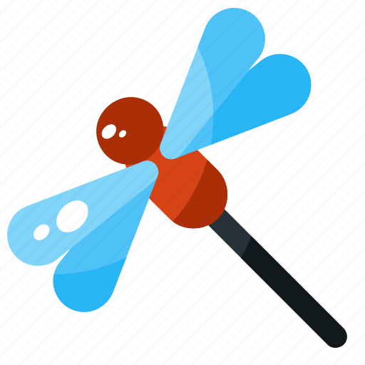 animal, dragonfly, insect, nature, spring icon