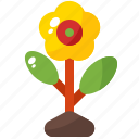 floral, flower, plant, spring, summer icon