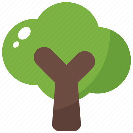 Forest, green, nature, spring, tree icon - Download on Iconfinder