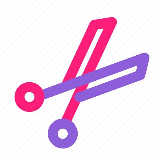 dual, gardening, line, multiply, shears, spring, tools icon