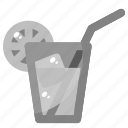 drink, water, fresh, lime, spring icon