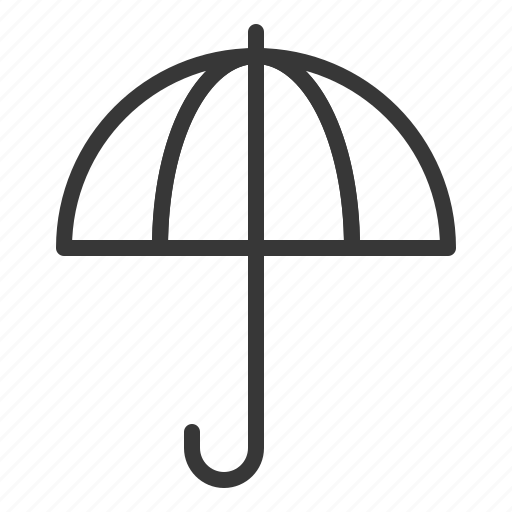 brolly, spring, sunshade, umbrella icon