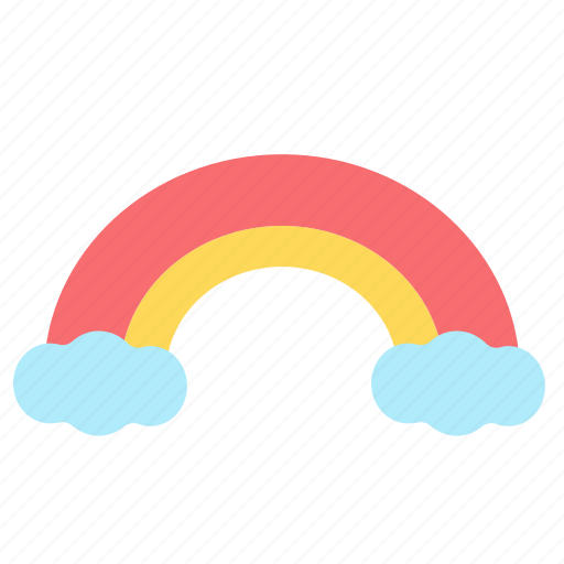 Rainbow, weather, spring, season, cloud, cloudy, colorful icon - Download on Iconfinder