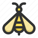 animal, bee, fly, insect, spring icon