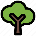forest, green, nature, spring, tree icon