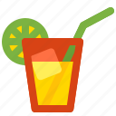 drink, fresh, lime, spring, water icon