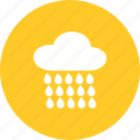 clouds, cloudy, nature, raining, sky, spring, weather icon