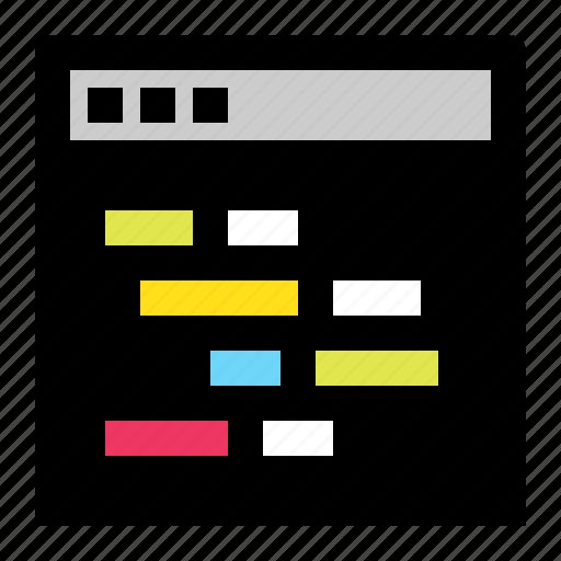 app, application, code, coding, hack, square, terminal icon