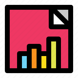bar chart, business, chart, data, diagram, progress, square icon