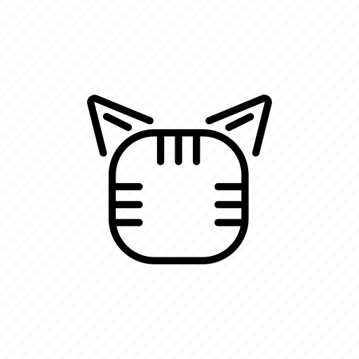 animal, cat, cat face, face, kitty, pet, tiger icon