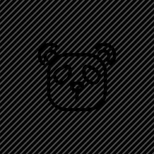 animal, bamboo, bear, china, danger, panda, zoo icon