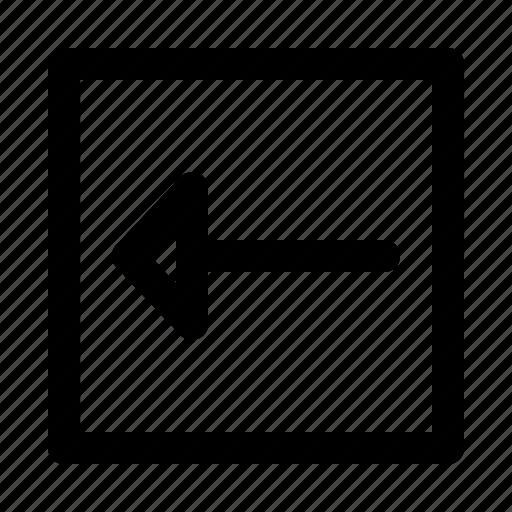 arrow, arrows, direction, left, move icon