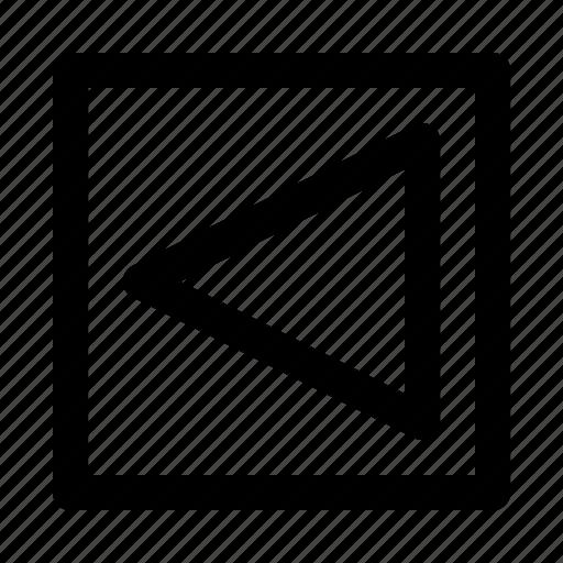 arrow, arrows, big, direction, left, move icon