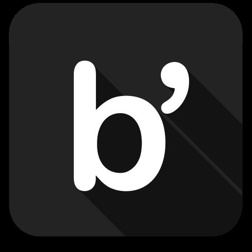 bloglovin, social media, social network icon