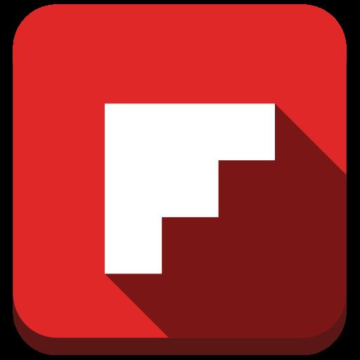 flipboard, media, news, soacial icon
