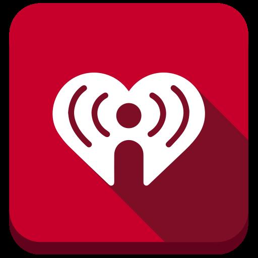 heart, hearth, iheart, radio, social, social media icon