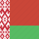 belarus, square icon