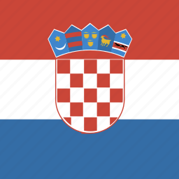 croatia, square icon