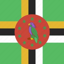 dominica, square icon