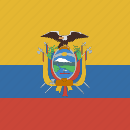 ecuador, square icon