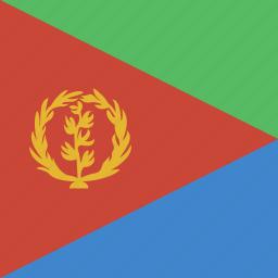 eritrea, square icon