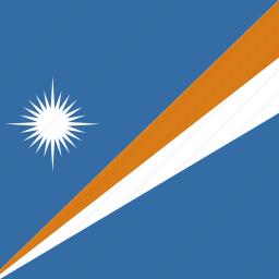 islands, marshall, square icon