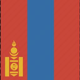 mongolia, square icon