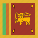 lanka, square, sri icon