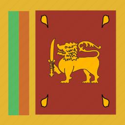 lanka, square, sri icon