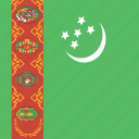 square, turkmenistan icon