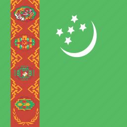 square, turkmenistan icon