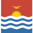 kiribati, square icon