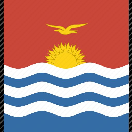 kiribati, square icon