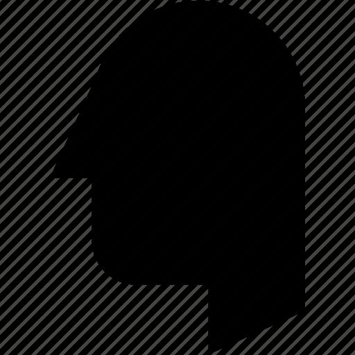 account, head, human, profile, user icon