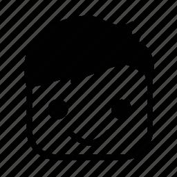emoji, face, smile, smiley icon