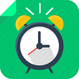 alarm, clock, late, time, wake up icon