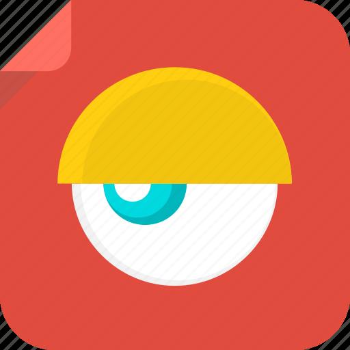 eye, see, visible icon